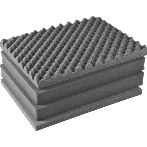 Pelican 1601 4 pc. Replacement Foam Set for 1600 Case