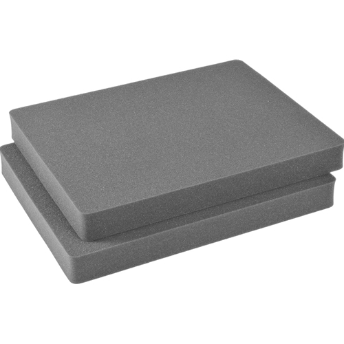 Pelican 1602 2 pc. Replacement Pick 'N' Pluck Foam Sections Only for 1600 Case
