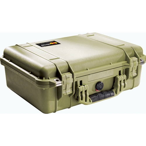 Pelican™ 1500 Case with Foam (OD Green)