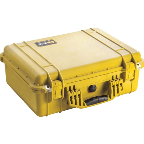 Pelican™ 1500 Case with Foam (Yellow)