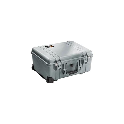 Pelican 1560 Case with Foam (Silver)