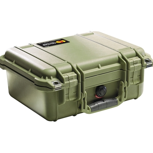 Pelican™ 1400 Case No Foam (OD Green)