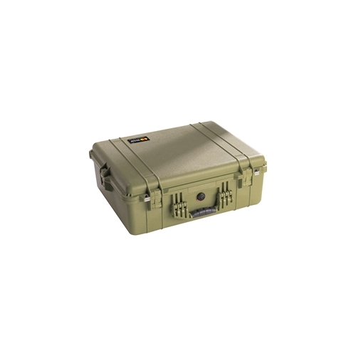 Pelican™ 1600 Case with Padded Dividers (OD Green)