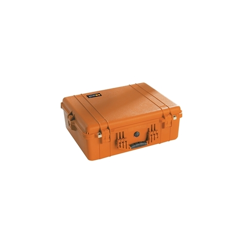 Pelican 1600 Case with Padded Dividers (Orange)