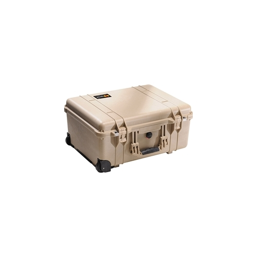 Pelican™ 1560 Case with Padded Dividers (Desert Tan)