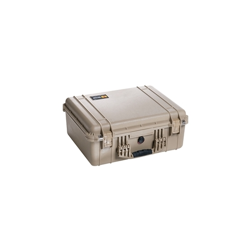 Pelican™ 1550 Case with Padded Dividers (Desert Tan)
