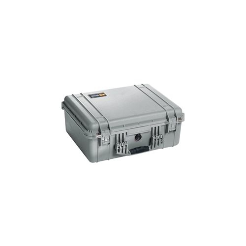 Pelican™ 1550 Case with Padded Dividers (Silver)