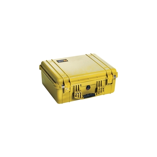 Pelican™ 1550 Case with Padded Dividers (Yellow)
