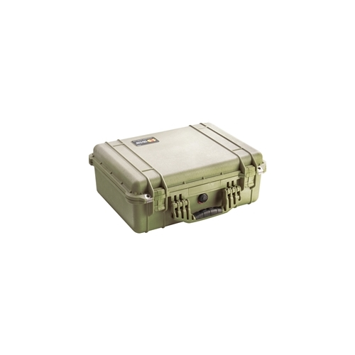Pelican™ 1520 Case with Padded Dividers (OD Green)
