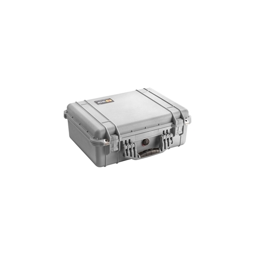 Pelican™ 1520 Case with Padded Dividers (Silver)
