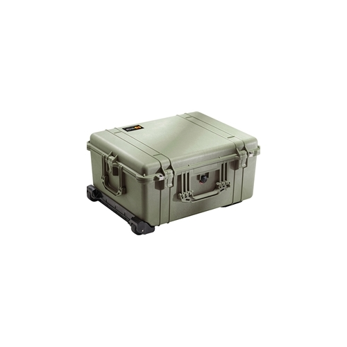 Pelican™ 1610 Case with Padded Dividers (OD Green)