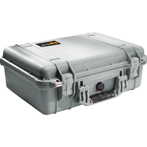 Pelican™ 1500 Case No Foam (Silver)
