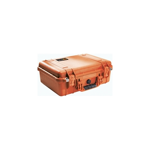 Pelican 1500™ Case with Padded Dividers (Orange)
