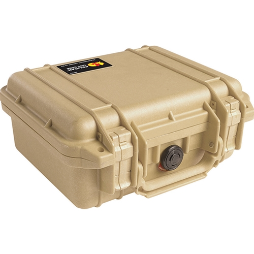 Pelican™ 1200 Case with Foam (Desert Tan)