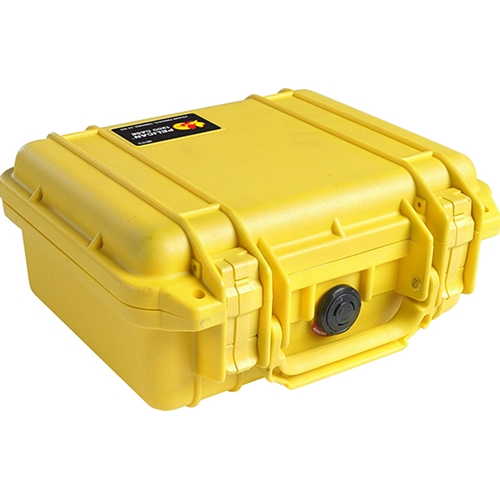 Pelican™ 1200 Case with Foam (Yellow)