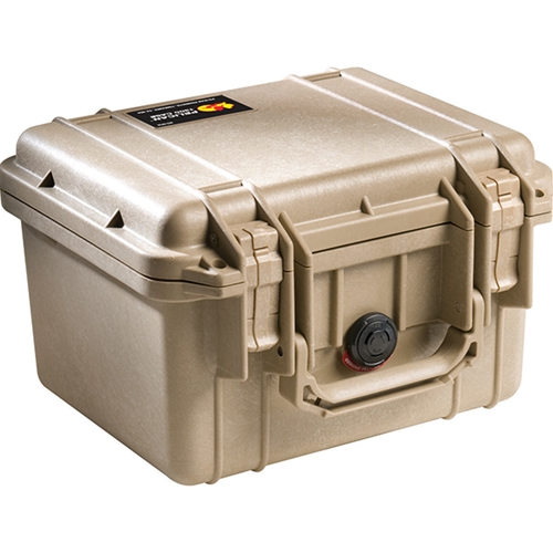 Pelican™ 1300 Case with Foam, Desert Tan