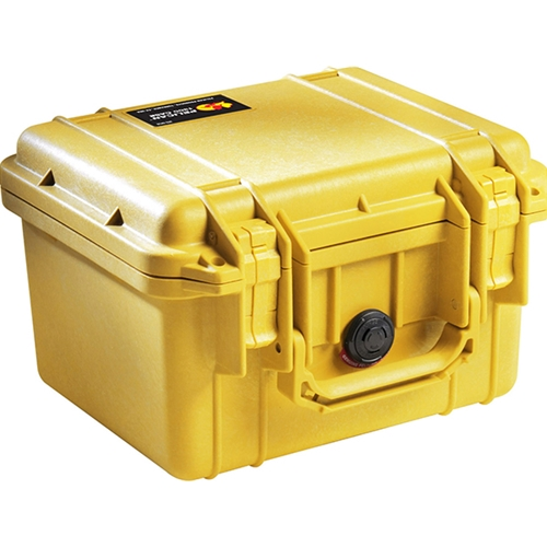 Pelican™ 1300 Case with Foam, Yellow