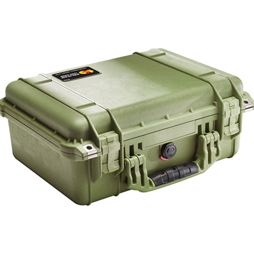 Pelican™ 1450 Case with Foam OD Green