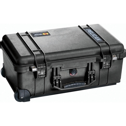 Pelican 1510 Carry On Case with Padded Dividers (Black)