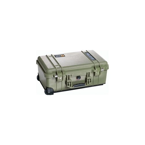 Pelican 1510 Carry On Case with Padded Dividers (OD Green)