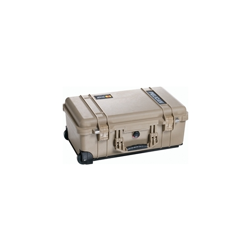 Pelican 1510 Carry On Case with Padded Dividers (Desert Tan)