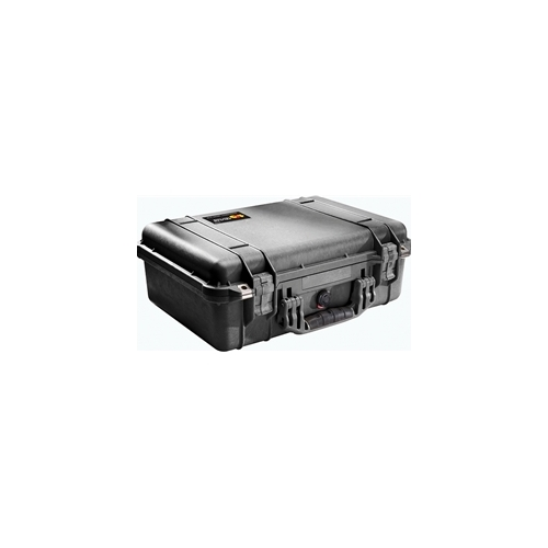 Pelican 1500 Case No Foam (Black)