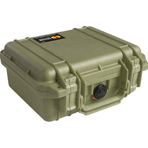 Pelican™ 1200 Case with Foam (OD Green)