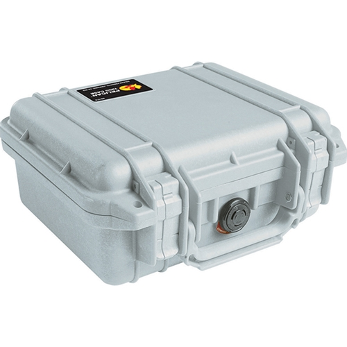 Pelican™ 1200 Case with Foam (Silver)