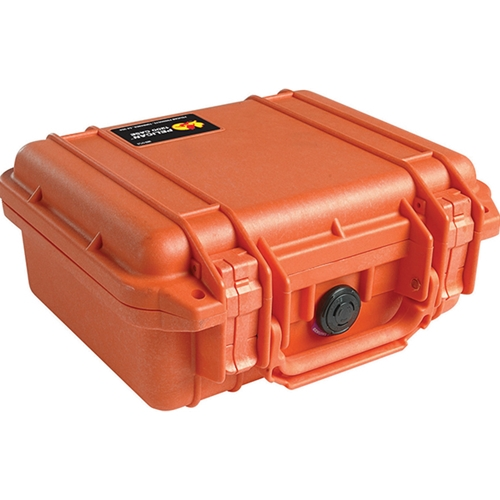 Pelican™ 1200 Case with Foam (Orange)