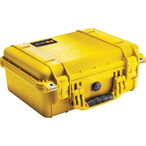 Pelican™ 1450 Case with Foam Yellow