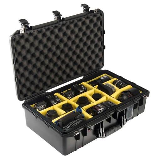 Pelican™ 1555 Air Case with Dividers (Black)